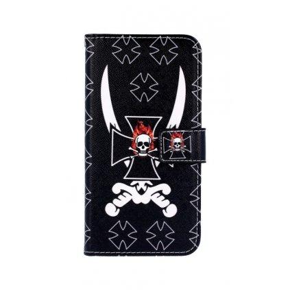 Flipové puzdro na Honor 9 Lite pirát