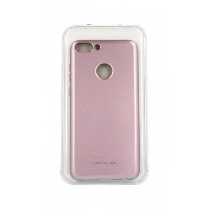 Zadný silikónový kryt Molan Cano Jelly na Honor 7S ružový svetlý