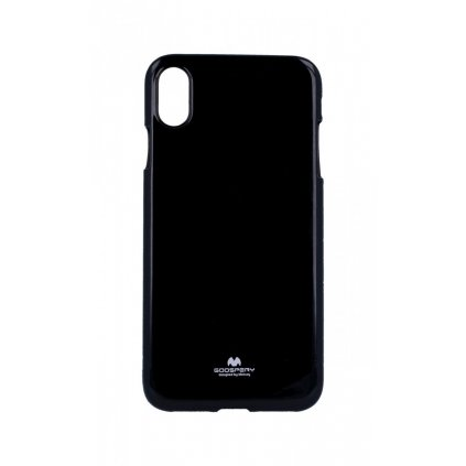 Zadný kryt Mercury Jelly Case na iPhone XS Max čierny
