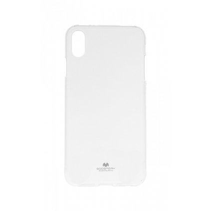 Zadný kryt Mercury Jelly Case na iPhone XS Max priehľadný