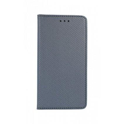 Flipové puzdro Smart Magnet na iPhone XS sivé
