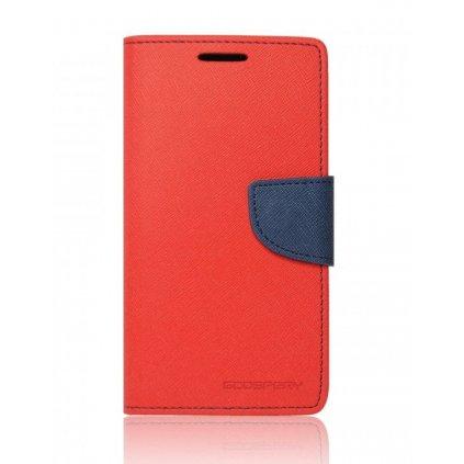 Flipové puzdro Mercury Fancy Diary na iPhone XR červené