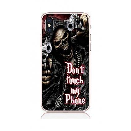 Zadný kryt na iPhone XS Smrťák
