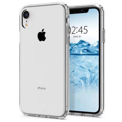 Ultratenký silikónový kryt na iPhone XR 0,5 mm priehľadný