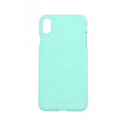 Zadný silikónový kryt Mercury Soft Case na iPhone XS Max mentolový
