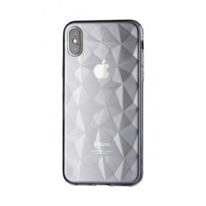 Zadný silikónový kryt Prism Jelly na iPhone XS Max priehľadný