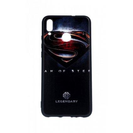 Zadný 3D silikónový kryt na Honor 8X Superman 2