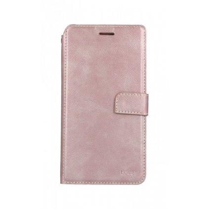 Flipové puzdro Molan Cano Issue Diary na iPhone XS Max ružové
