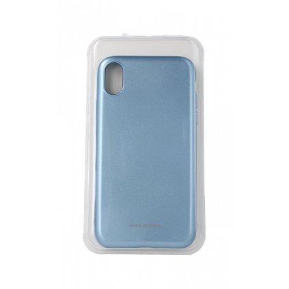 Zadný silikónový kryt Molan Cano Jelly na iPhone XR modrý svetlý