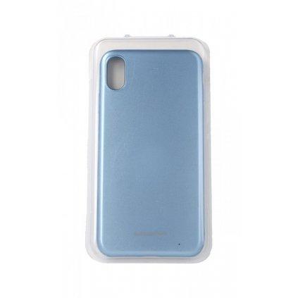 Zadný silikónový kryt Molan Cano Jelly na iPhone XS Max modrý svetlý