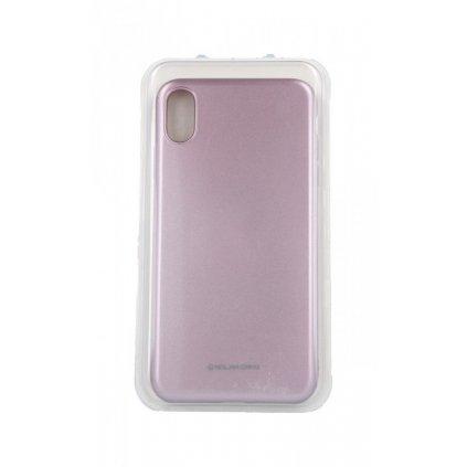 Zadný silikónový kryt Molan Cano Jelly na iPhone XS Max ružový svetlý