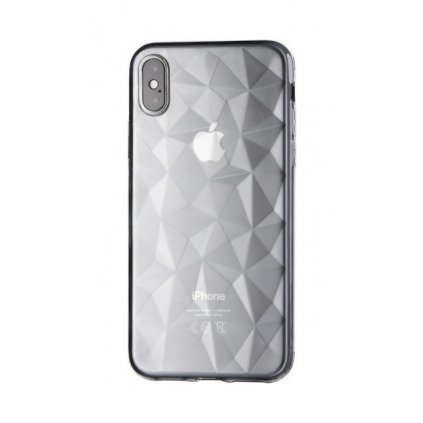 Zadný silikónový kryt Prism Jelly na iPhone X priehľadný