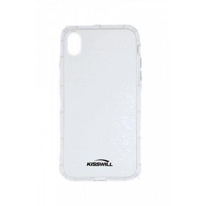 Zadný silikónový kryt Kisswill Air Around na iPhone XR priehľadný
