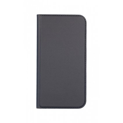 Flipové puzdro Dux Ducis na iPhone XS sivé tmavé