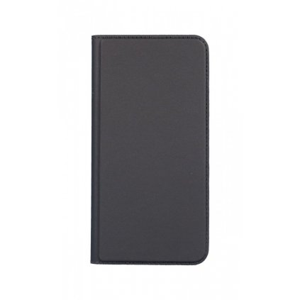 Flipové puzdro Dux Ducis na iPhone XS Max sivé tmavé