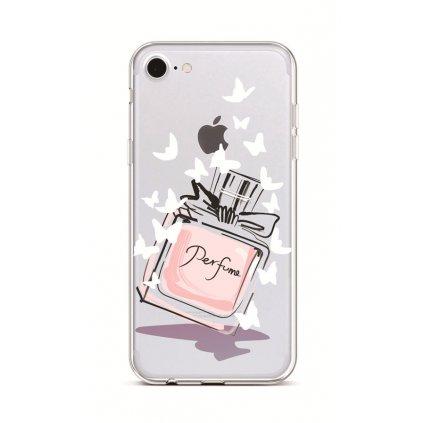 Zadný silikónový kryt na iPhone 7 Perfume