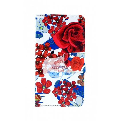 Flipové puzdro na Honor 10 Lite Roses
