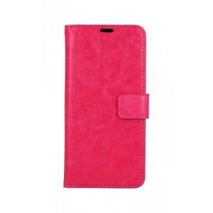 Flipové puzdro na Honor 10 Lite ružové tmavé s prackou 2