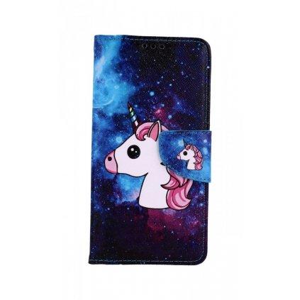 Flipové puzdro na Honor 20 Space Unicorn