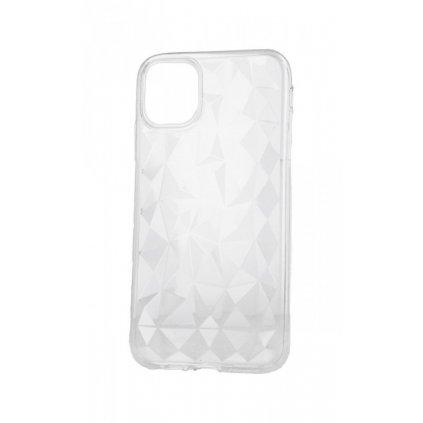 Zadný silikónový kryt Prism Jelly na iPhone 11 Pro Max priehľadný