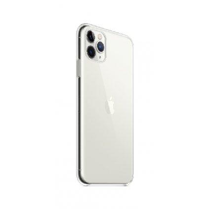 Zadný kryt Swissten Clear Jelly na iPhone 11 Pro Max priehľadný