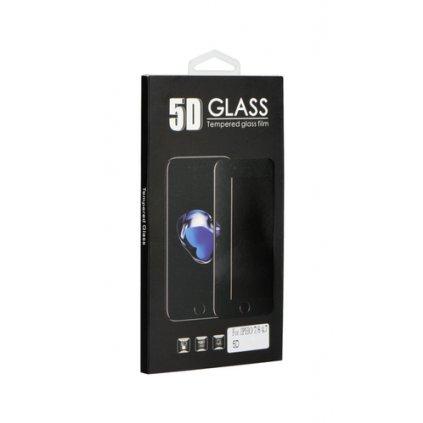 Tvrdené sklo BlackGlass na iPhone 8 Plus 5D červené