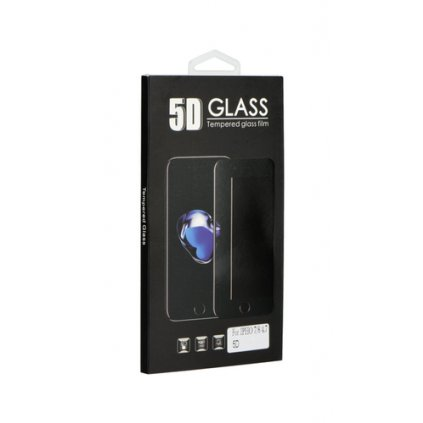 Tvrdené sklo BlackGlass na iPhone 6 / 6s 5D čierne