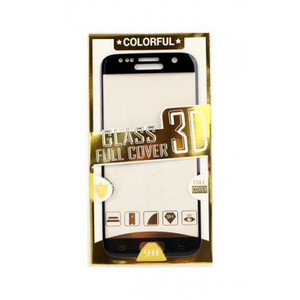 Polykarbonátová ochrana displeja BestGlass na iPhone 7 3D čierna
