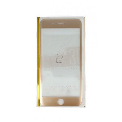 Polykarbonátová ochrana displeja BestGlass na iPhone 7 Plus 3D zlatá