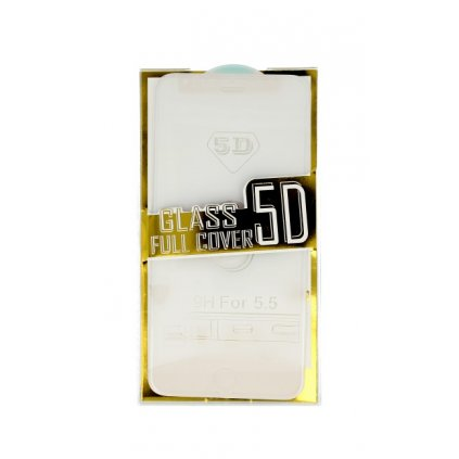 Polykarbonátová ochrana displeja BestGlass na iPhone 6 Plus / 6s Plus 5D priehľadná