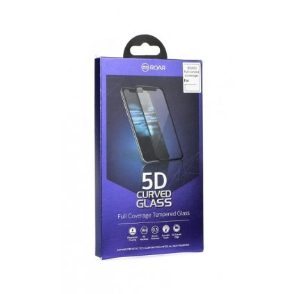 Polykarbonátová ochrana displeja Roar na iPhone 6 Plus / 6s Plus 5D čierna