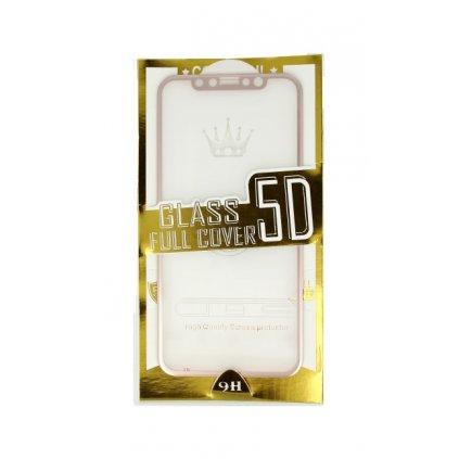 Polykarbonátová ochrana displeja BestGlass na iPhone XS 5D ružová