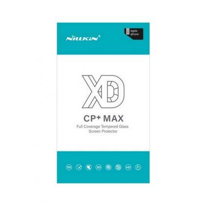 Polykarbonátová ochrana displeja Nillkin CP + Max na iPhone XS Max čierna