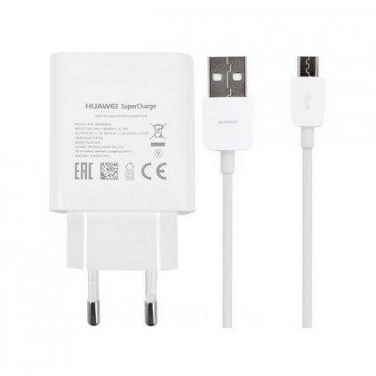 Originálna rýchlonabíjačka Huawei HW-050450E00 + micro USB dátový kábel 4.5A biela
