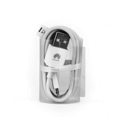 Originálny dátový kábel Huawei C02450768A microUSB biely