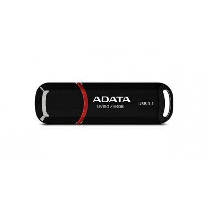 USB kľúč ADATA UV150 64GB čierno-červený
