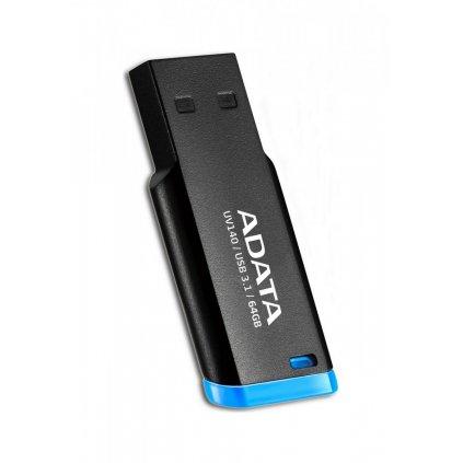 USB kľůč ADATA UV140 64GB čierny