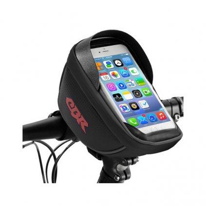 Puzdro CBR pre mobilný telefón na bicykel čierne 5,5''