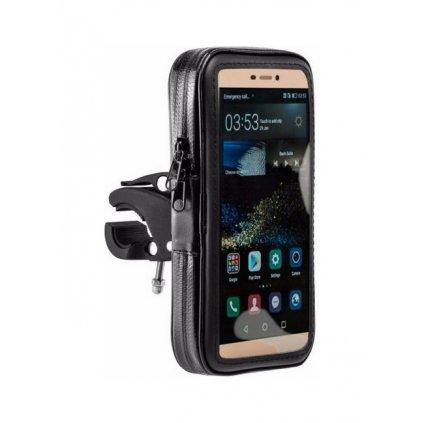 Držiak na mobil na motorku / skúter Mount XL čierny