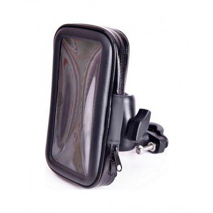 Držiak na mobil na motorku / skúter Support L čierny