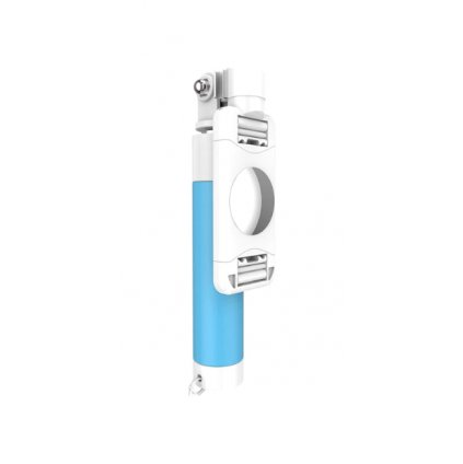 Selfie tyč FLOVEME Cute Candy Mini so zrkadielkom modrá