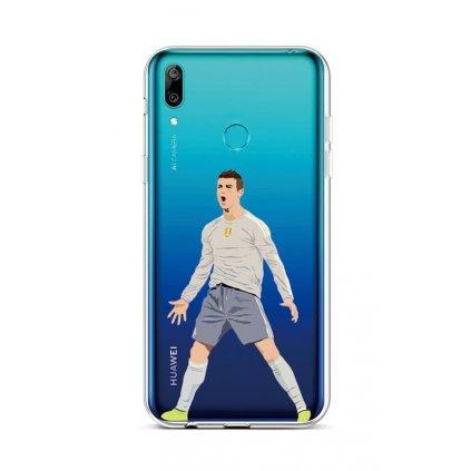 Zadný silikónový kryt na Huawei Y6 2019 Futbalista