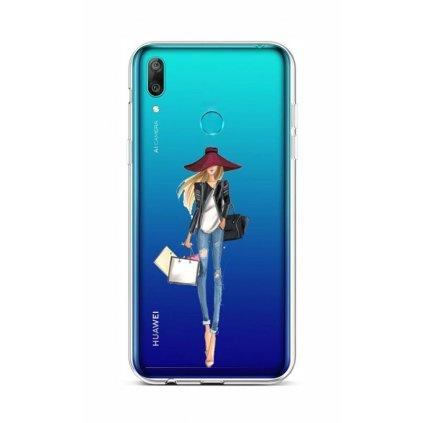 Zadný silikónový kryt na Huawei Y6 2019 Lady 2