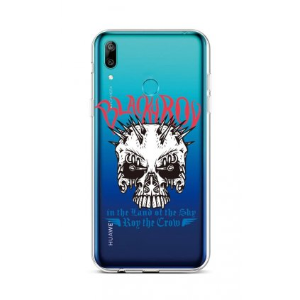 Zadný silikónový kryt na Huawei Y6 2019 Black Roy