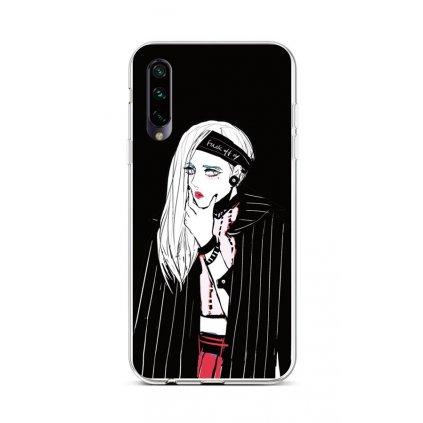 Zadný silikónový kryt na Xiaomi Mi A3 Dark Girl