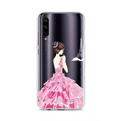 Zadný silikónový kryt na Xiaomi Mi A3 Pink Princess