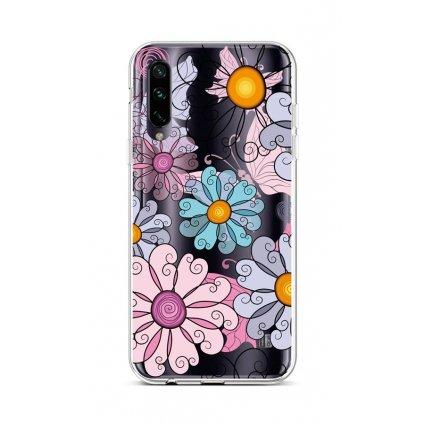 Zadný silikónový kryt na Xiaomi Mi A3 Colorful Daisy