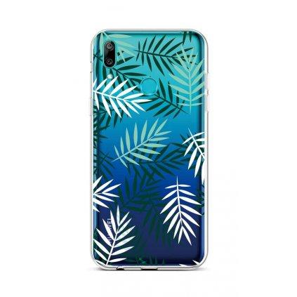 Zadný silikónový kryt na Huawei Y6 2019 Listy