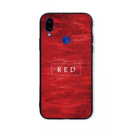 Zadný pevný kryt LUXURY na Xiaomi Redmi 7 Red