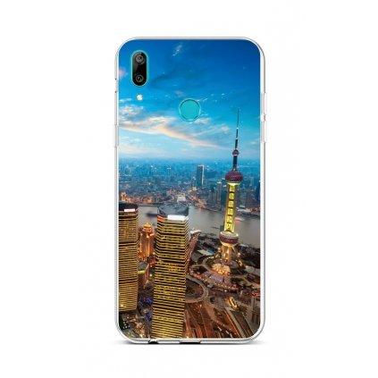 Zadný silikónový kryt na Huawei Y6 2019 City